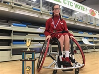CVA Student Scores Gold in European Wheelchair Basketball Championship