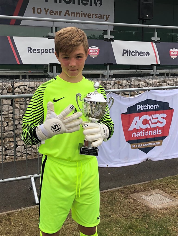 Bailey Neil and his Fleur De Lys side become first ever Portsmouth team to win national championships in Nottingham