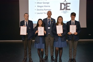 Year 10 Students Awarded Their DofE Bronze Award