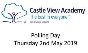 Polling Day Thursday 2nd May 2019