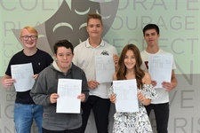 Year on year GCSE success celebrated at Castle View Academy