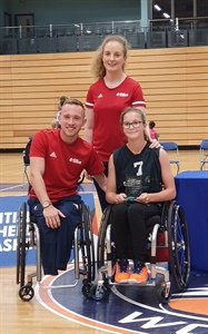 "Castle View Academy Student Named British Wheelchair Basketball's ""Female Player of the Year"""