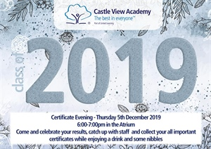 Year 12 Certificate Evening