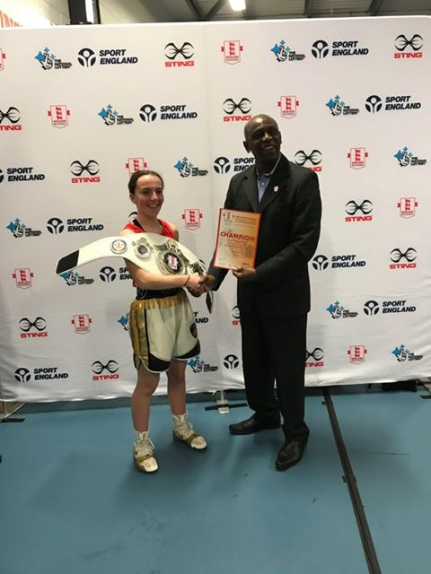 CVA student ranked number 1 in England for boxing